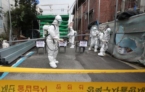 """Hàn Quốc nâng """"cấp độ 2"""" cảnh báo dịch COVID-19 sau 3 tháng"""