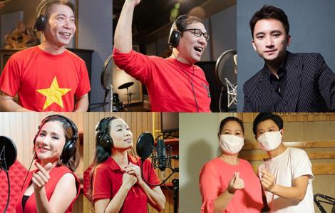 Phan Mạnh Quỳnh và nhiều nghệ sĩ tiếp tục hát cổ vũ cả nước chống COVID-19