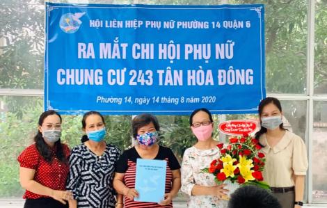 Ra mắt Chi hội Phụ nữ chung cư 243 Tân Hòa Đông