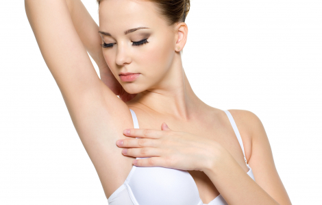 Xóa mờ vết thâm cho vùng da dưới cánh tay