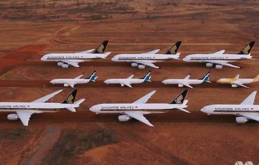 Dừng hoạt động vì dịch COVID-19, các hãng hàng không gửi máy bay ở đâu?