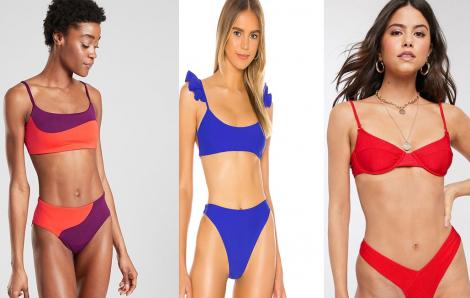 """20 mẫu đồ bơi đẹp nhất cho người có """"vòng 1 khiêm tốn"""""""
