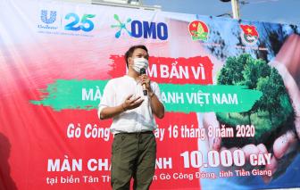 Kêu gọi trồng hàng chục ngàn cây xanh tạo màn chắn xanh Việt Nam