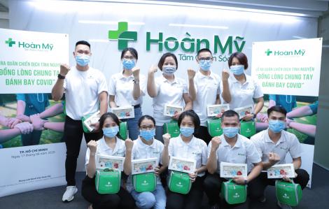 Hơn 100 nhân viên Tập đoàn Y khoa Hoàn Mỹ tình nguyện tham gia chống COVID-19 tại các điểm nóng