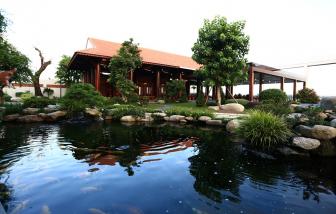 Cùng dạo và ngắm resort tại gia