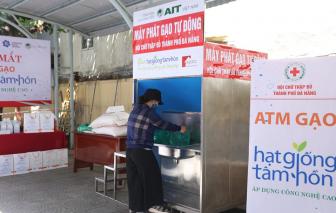 """Đà Nẵng lắp ATM gạo thông minh, tự động """"nhắn"""" người dân đến nhận gạo"""