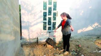 Chính quyền sẽ hỗ trợ người dân tiếp tục xây nhà