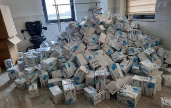 Phát hiện hơn 4,4 triệu khẩu trang, găng tay nghi đã qua sử dụng