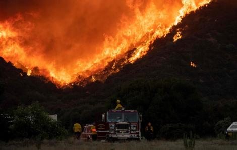 California tuyên bố tình trạng khẩn cấp cháy rừng