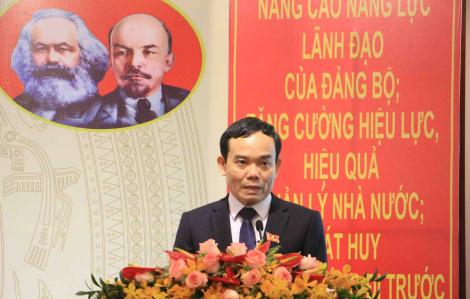 """Phó Bí thư Trần Lưu Quang: """"TPHCM muốn trở thành nơi đáng sống thì không thể xảy ra ùn tắc giao thông"""""""