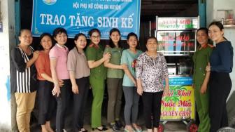 9 phương tiện làm ăn tặng phụ nữ nghèo