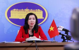 Bộ ngoại giao Việt Nam lên tiếng về việc Trung Quốc đưa oanh tạc cơ ra Hoàng Sa