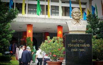 Lãnh đạo TPHCM dâng hương Chủ tịch Tôn Đức Thắng