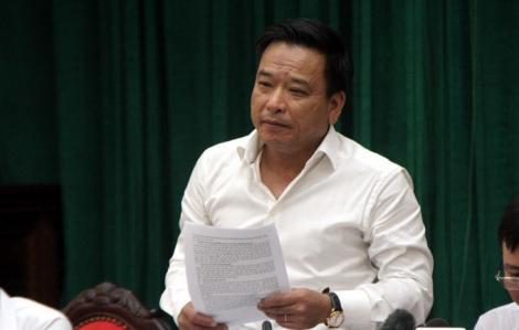 Bắt Tổng giám đốc Công ty TNHH một thành viên Thoát nước Hà Nội