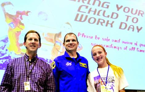 Bố, con gái và ước mơ NASA