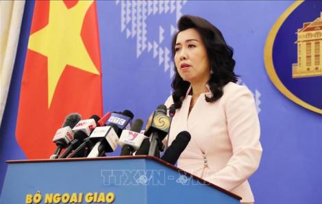 Việt Nam kêu gọi các bên đóng góp trách nhiệm duy trì hòa bình, ổn định và an ninh ở Biển Đông