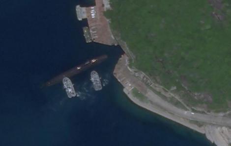 Xuất hiện vật thể giống tàu ngầm Trung Quốc ở khu vực đảo Hải Nam trên Biển Đông