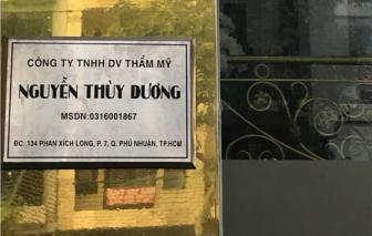 Viện thẩm mỹ Thùy Dương hoạt động không phép