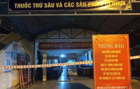 3 tiểu thương ở 2 chợ dương tính với COVID-19, Đà Nẵng thông báo khẩn rạng sáng