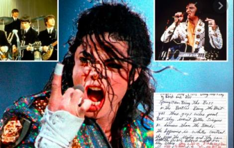 Xuất hiện lá thư bí ẩn của Michael Jackson
