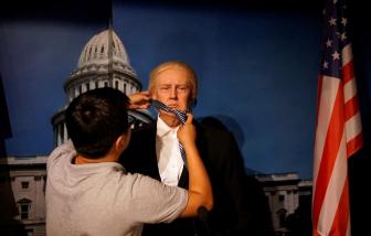 Nhà sản xuất tượng sáp Trump ở Trung Quốc thất thu do tác động của dịch COVID-19
