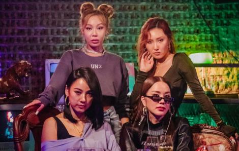 """Bộ tứ """"chị đại"""" vừa thành lập đã càn quét làng giải trí Hàn Quốc"""