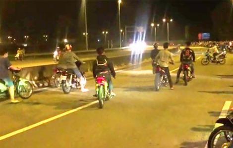 Ngăn chặn 2 nhóm đua xe gây rối trật tự ở Sài Gòn