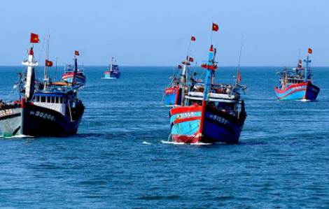 Lưu ý ranh giới đánh bắt của ngư dân Việt Nam và ngư dân Trung Quốc trên Biển Đông