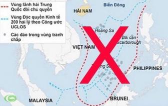 Hơn 80 tổ chức trên toàn thế giới phản đối yêu sách phi lý của Trung Quốc ở Biển Đông