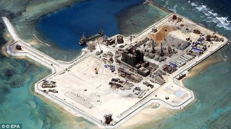 Mỹ trừng phạt thêm 24 công ty Trung Quốc có đóng góp xây đảo nhân tạo trên Biển Đông