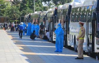 Công dân Đà Nẵng trở về thành phố được phân loại theo nhóm để phòng dịch