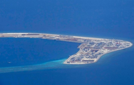 Trung Quốc phản đối lệnh trừng phạt của Mỹ lên 24 đối tượng giúp xây đảo ở Biển Đông