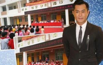 Cổ Thiên Lạc quyên góp xây dựng 4 trường học