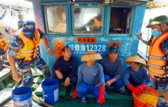 Quảng Trị: Đuổi bắt một tàu cá Trung Quốc xâm phạm lãnh hải Việt Nam