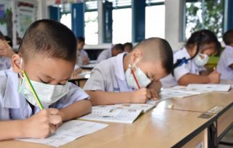 TPHCM: Người sốt, ho, khó thở thì không đến trường năm học 2020-2021