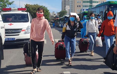 13.000 người ngoại tỉnh đăng ký rời Đà Nẵng, có 7 tỉnh đã trả lời kèm theo kế hoạch đón