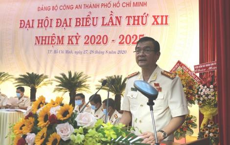 Đại tá Lê Hồng Nam, Giám đốc Công an TPHCM giữ chức Bí thư Đảng ủy Công an TP nhiệm kỳ 2020 – 2025