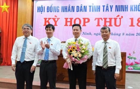 Ông Nguyễn Thanh Ngọc được bầu làm Chủ tịch UBND tỉnh Tây Ninh