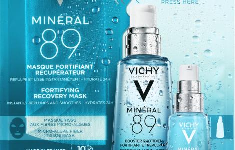 Serum Vichy Minéral 89 - Giải pháp phục hồi chuyên sâu cho làn da