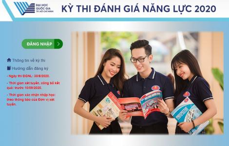 Thí sinh, giáo viên, cán bộ coi thi từ Quảng Ngãi trở ra phía Bắc không tham dự trực tiếp kỳ thi đánh giá năng lực tại TPHCM