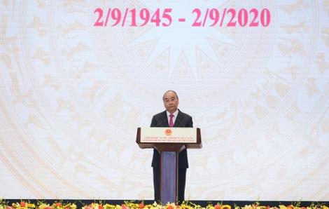 """Thủ tướng Nguyễn Xuân Phúc: """"Tôi tin tưởng vào tương lai chung tốt đẹp của Việt Nam và cộng đồng quốc tế"""""""
