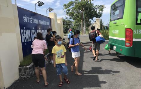 TPHCM: 284 người hết thời gian cách ly được trở về nhà