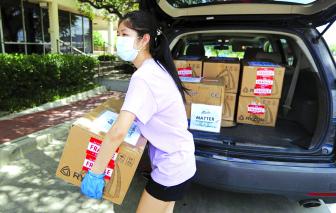 Thanh thiếu niên Mỹ chung tay chống đại dịch