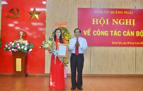 Bộ Chính trị chuẩn y nữ Bí thư Tỉnh ủy Quảng Ngãi