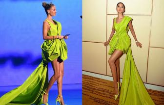 Sao Hollywood mặc chiếc váy đã được nhiều sao Việt diện