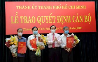 Ông Đào Gia Vượng giữ chức Phó bí thư Huyện ủy huyện Bình Chánh