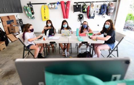 Mỹ vượt mốc 6 triệu ca nhiễm, các trường học đối mặt với đợt bùng phát mới