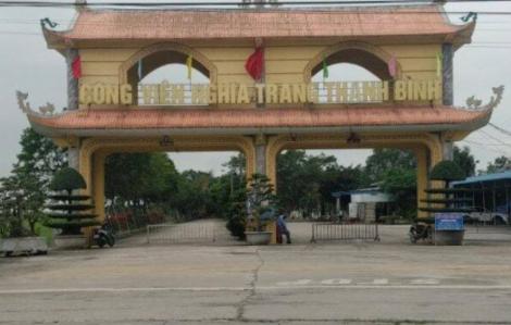 Khởi tố 2 đối tượng liên quan đến vụ ăn chặn tiền hỏa táng ở Thái Bình