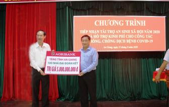 Agribank tài trợ 100 căn nhà Đại đoàn kết cho tỉnh An Giang