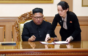 """Em gái Kim Jong-un """"biến mất khỏi tầm mắt"""" của công chúng"""